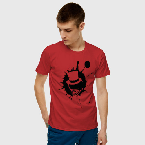 Мужская футболка хлопок Сэр Троглодит - Минимализм чер Фото 01