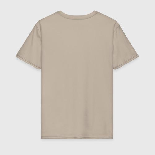 Мужская футболка хлопок Кофе Фото 01