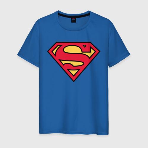 Мужская футболка хлопок Superman logo Фото 01