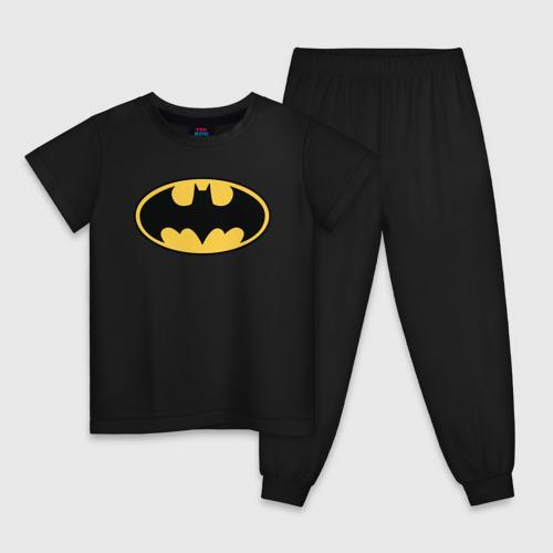Детская пижама хлопок Batman logo Фото 01