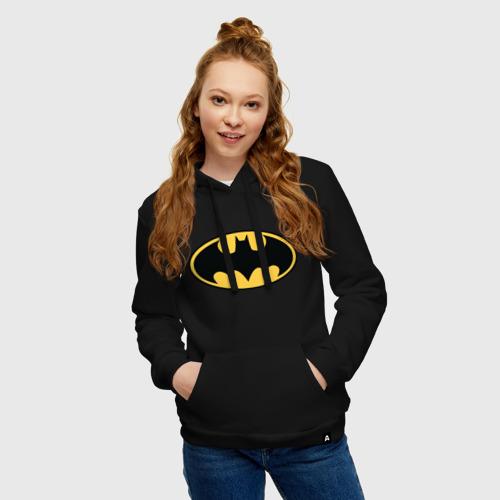 Женская толстовка хлопок Batman logo Фото 01