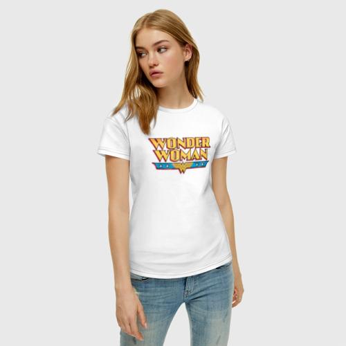 Женская футболка хлопок Wonder Woman Фото 01