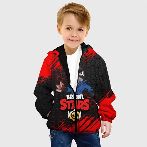 Детская куртка 3D BRAWL STARS  CROW / ВОРОН Фото 01
