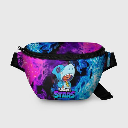 Поясная сумка 3D BRAWL STARS LEON SHARK Фото 01