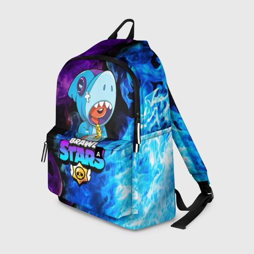 Рюкзак 3D BRAWL STARS LEON SHARK | ЛЕОН Фото 01