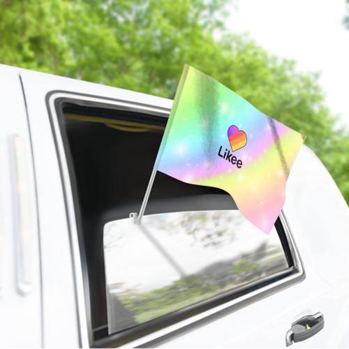 Флаг для автомобиля LIKEE Фото 01
