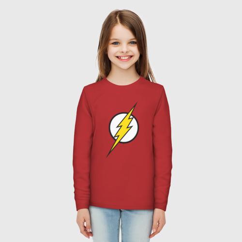 Детский лонгслив хлопок Flash Фото 01