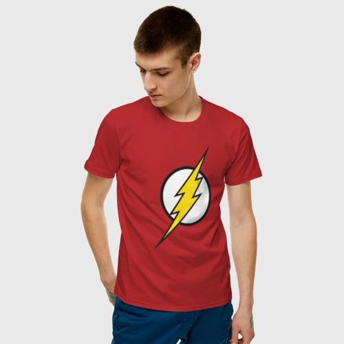 Мужская футболка хлопок Flash Фото 01