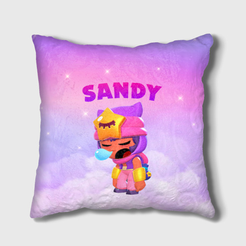 Подушка 3D BRAWL STARS - SANDY Фото 01
