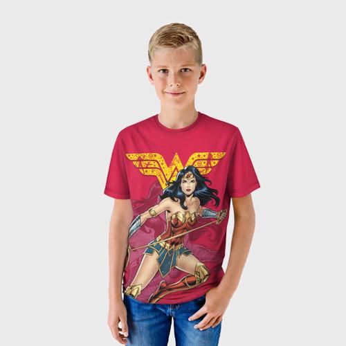 Детская футболка 3D Wonder Woman Фото 01