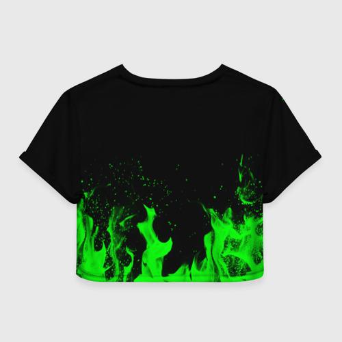 Женская футболка Crop-top 3D Brawl Stars 8-BIT Фото 01