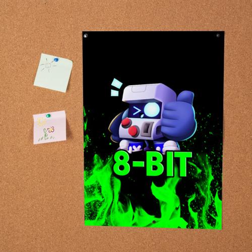 Постер Brawl Stars 8-BIT Фото 01