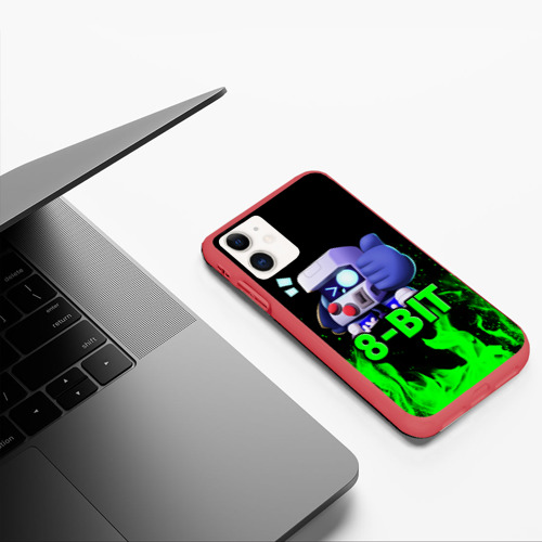 Чехол для iPhone 11 матовый Brawl Stars 8-BIT Фото 01