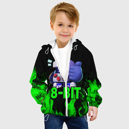 Детская куртка 3D Brawl Stars 8-BIT Фото 01