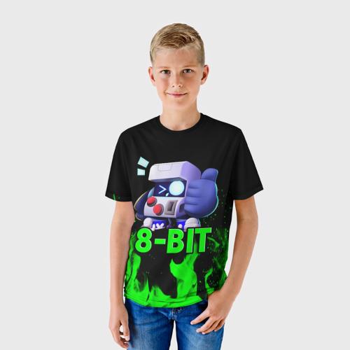 Детская футболка 3D Brawl Stars 8-BIT Фото 01