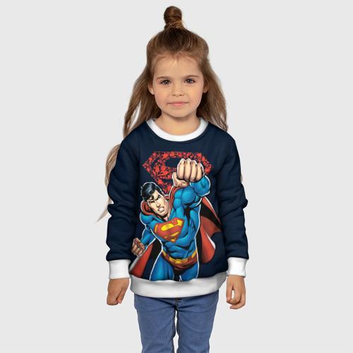 Детский свитшот 3D Superman Фото 01