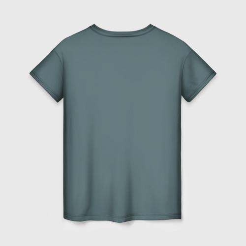 Женская футболка 3D Пряничный человечек за  920 рублей в интернет магазине Принт виды с разных сторон
