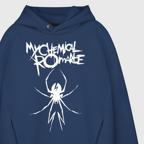 Мужское худи Oversize хлопок My Chemical Romance Фото 01
