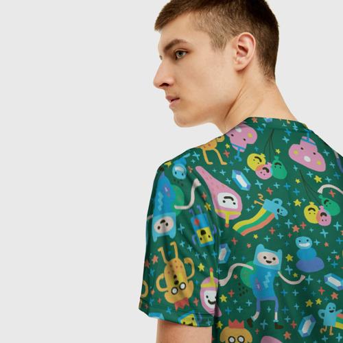Мужская футболка 3D New year Adventure time Фото 01