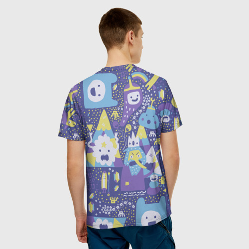 Мужская футболка 3D Adventure Time The Ice King Фото 01