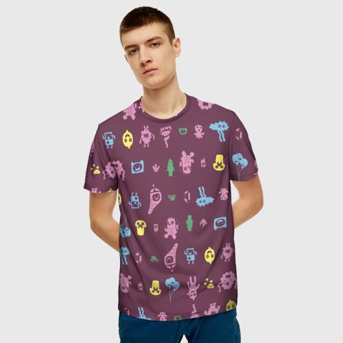 Мужская футболка 3D Время приключений Лимонохват Фото 01