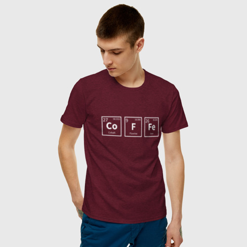 Мужская футболка хлопок Coffee Фото 01