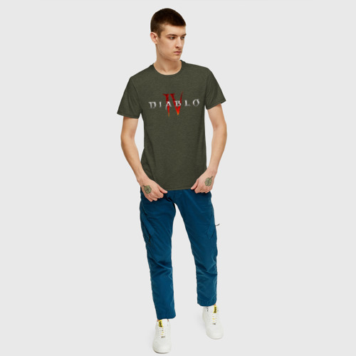 Мужская футболка хлопок DIABLO 4 Фото 01