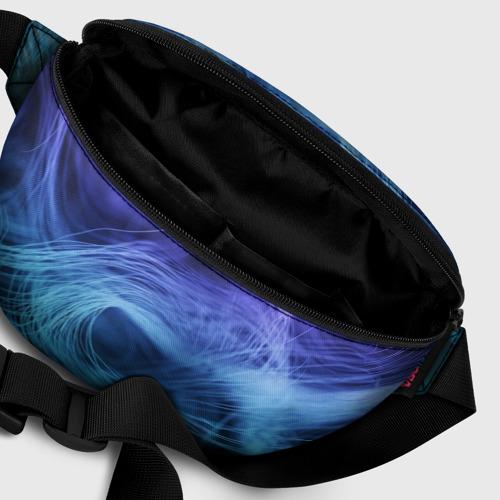 Поясная сумка 3D Линии материи Фото 01
