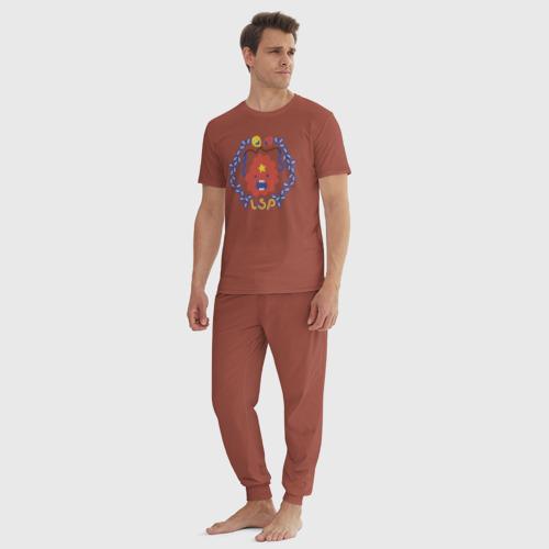 Мужская пижама хлопок Время приключений ППК Фото 01
