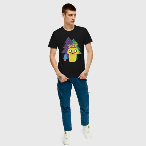 Мужская футболка хлопок Время приключений Jake Фото 01