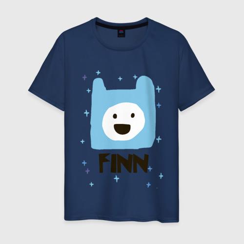 Мужская футболка хлопок Время приключений Finn Фото 01