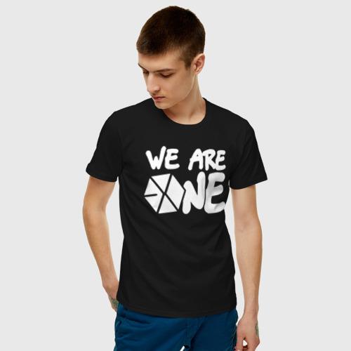 Мужская футболка хлопок We are one Фото 01