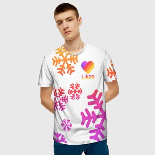 """3D футболка """"Новогодний Likee"""" фото 2"""