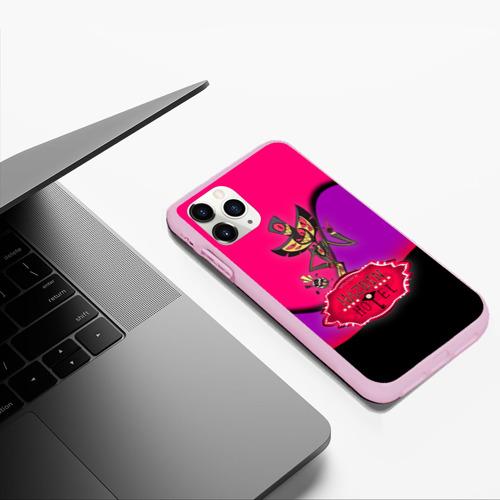 Чехол для iPhone 11 Pro Max матовый Hazbin Hotel Фото 01