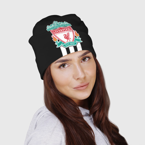 Шапка 3D Ливерпуль (шапка) Фото 01