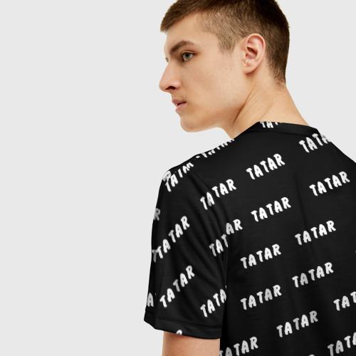 Мужская футболка 3D Татарин Фото 01