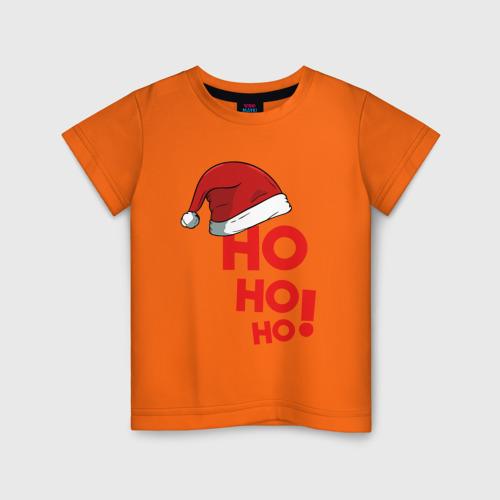 Детская футболка хлопок Santa - Ho ho ho 86 фото
