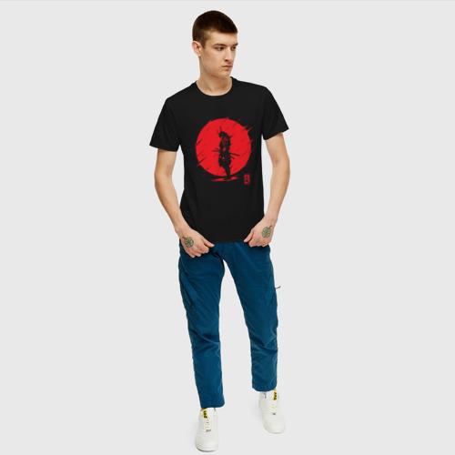 Мужская футболка хлопок Самурайский Дух Фото 01