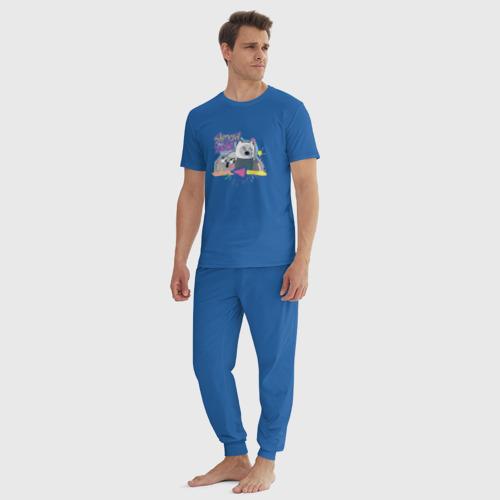 Мужская пижама хлопок Shmow Zow Фото 01