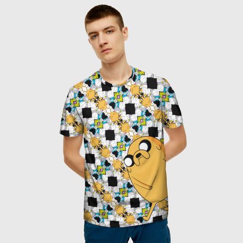 Мужская футболка 3D Jake Adventure Time Фото 01