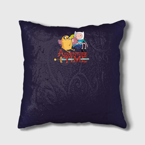 Подушка 3D Время Приключений Фото 01