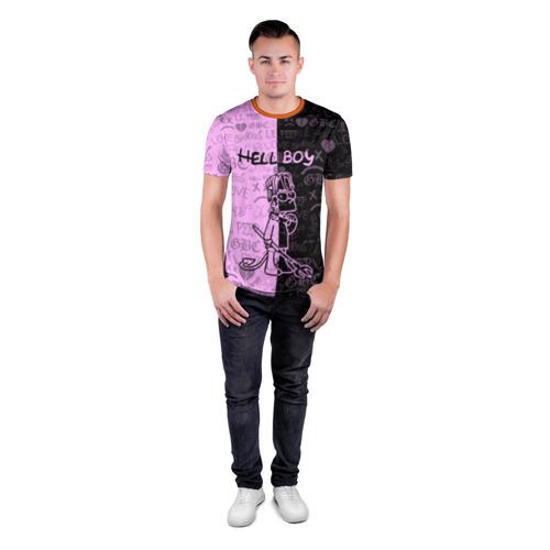 Мужская футболка 3D спортивная LIL PEEP HELL BOY Фото 01