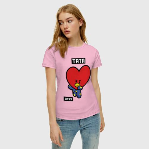 Женская футболка хлопок TATA BT21 Фото 01
