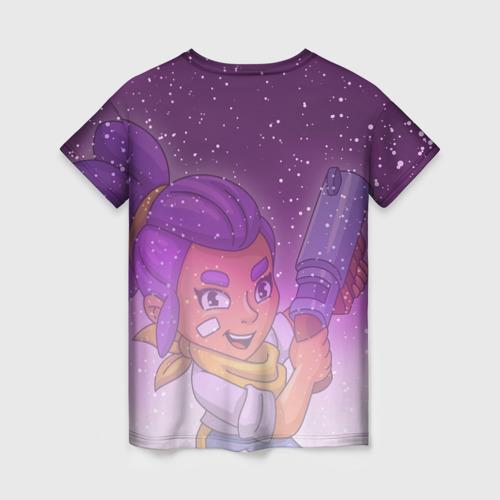 Женская футболка 3D BRAWL STARS SHELLY Фото 01