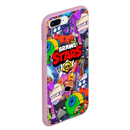 Чехол для iPhone 7Plus/8 Plus матовый BRAWL STARS Фото 01
