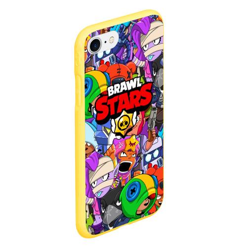 Чехол для iPhone 7/8 матовый BRAWL STARS Фото 01