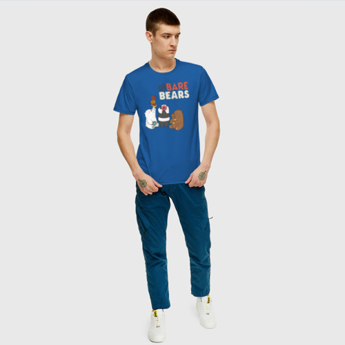 Мужская футболка хлопок baby Bears Фото 01