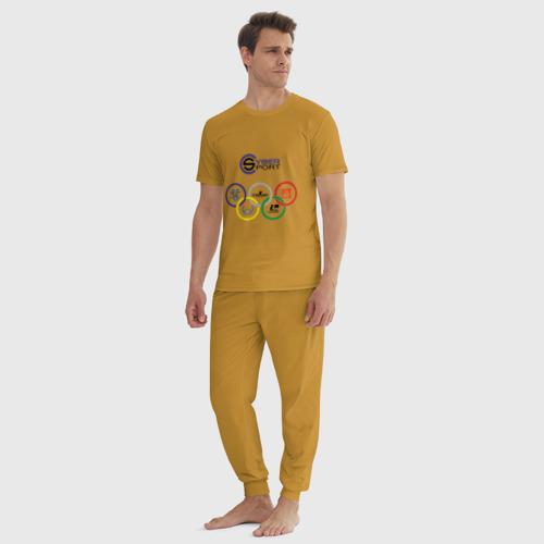 Мужская пижама хлопок CyberSport Фото 01