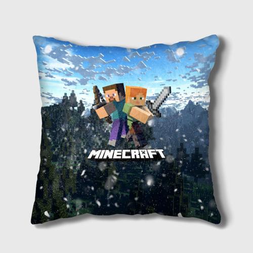 Подушка 3D Minecraft / Майнкрафт Фото 01