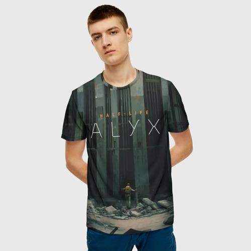 Мужская футболка 3D HALF-LIFE: ALYX Фото 01
